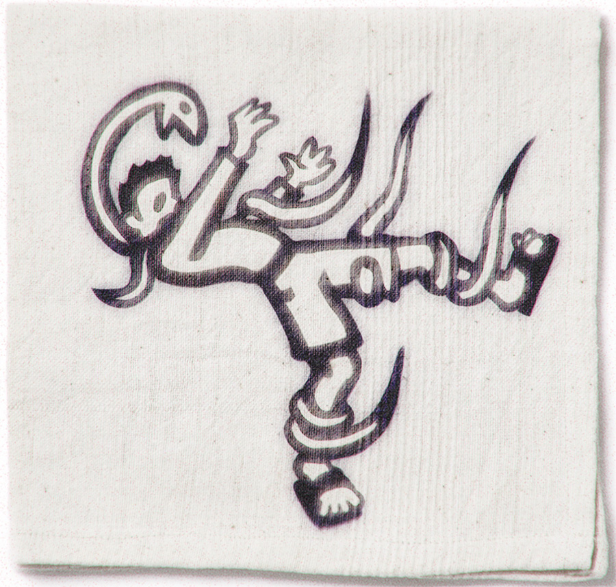 Snake Attack Napkin Sketch 2008